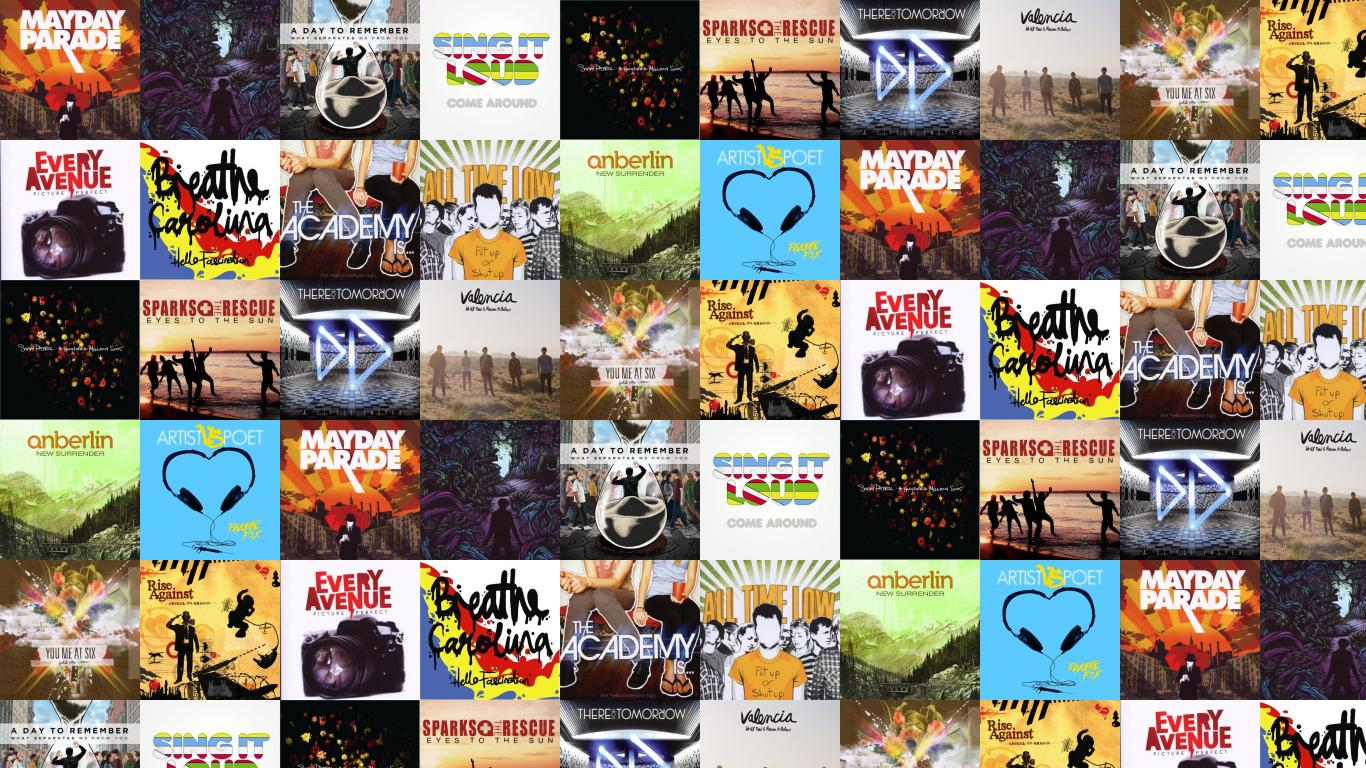 Mayday Parade Lesson In Romantics Day To Remember Wallpaper Tiled