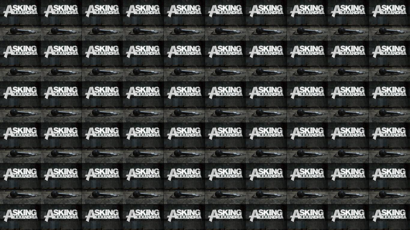 asking alexandria stand up and scream wallpaper 171 tiled