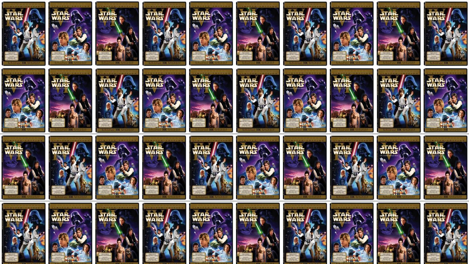 Return Of The Jedi Tiled Desktop Wallpaper