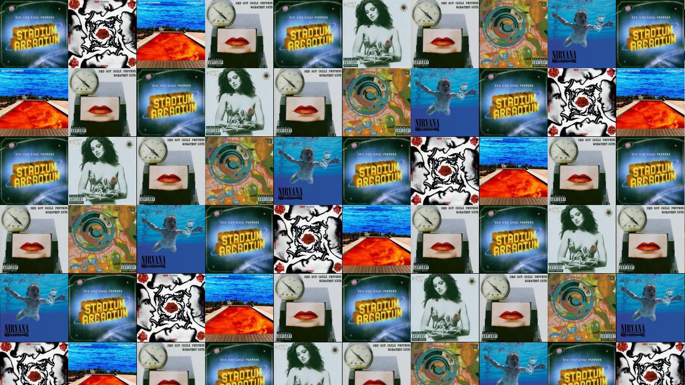 Red Hot Chili Peppers Stadium Arcadium Bood Sugar Wallpaper Tiled