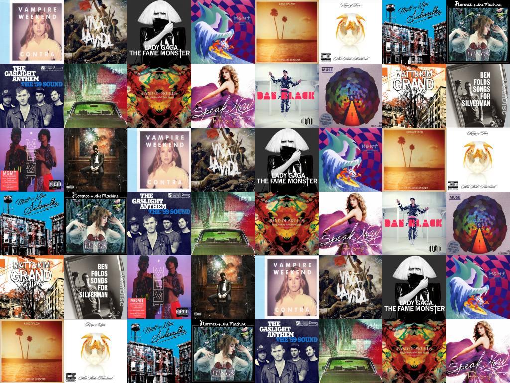 Vampire Weekend Contra Coldplay Viva La Vida Lady Wallpaper Tiled