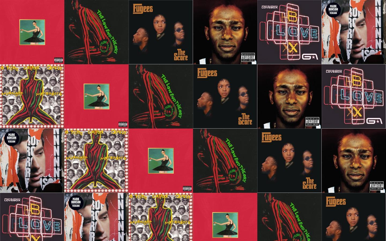 Kanye West My Beautiful Dark Twisted Fantasy Tribe Wallpaper Tiled Desktop Wallpaper
