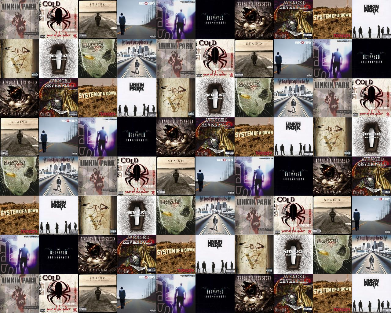 Linkin Park Hybrid Theory Cold Year Spider Staind Wallpaper