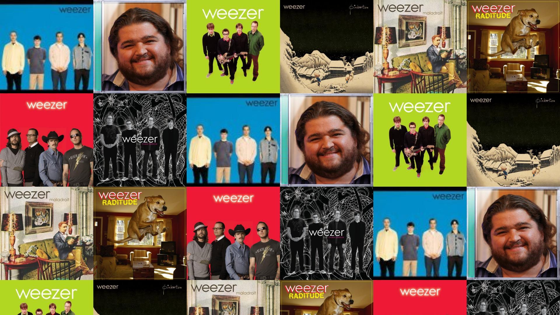 weezer blue album hurley green album pinkerton maladroit