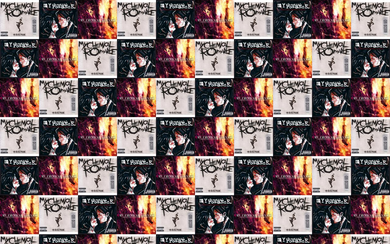 My Chemical Romance Black Parade Three Cheers For Wallpaper Tiled Desktop