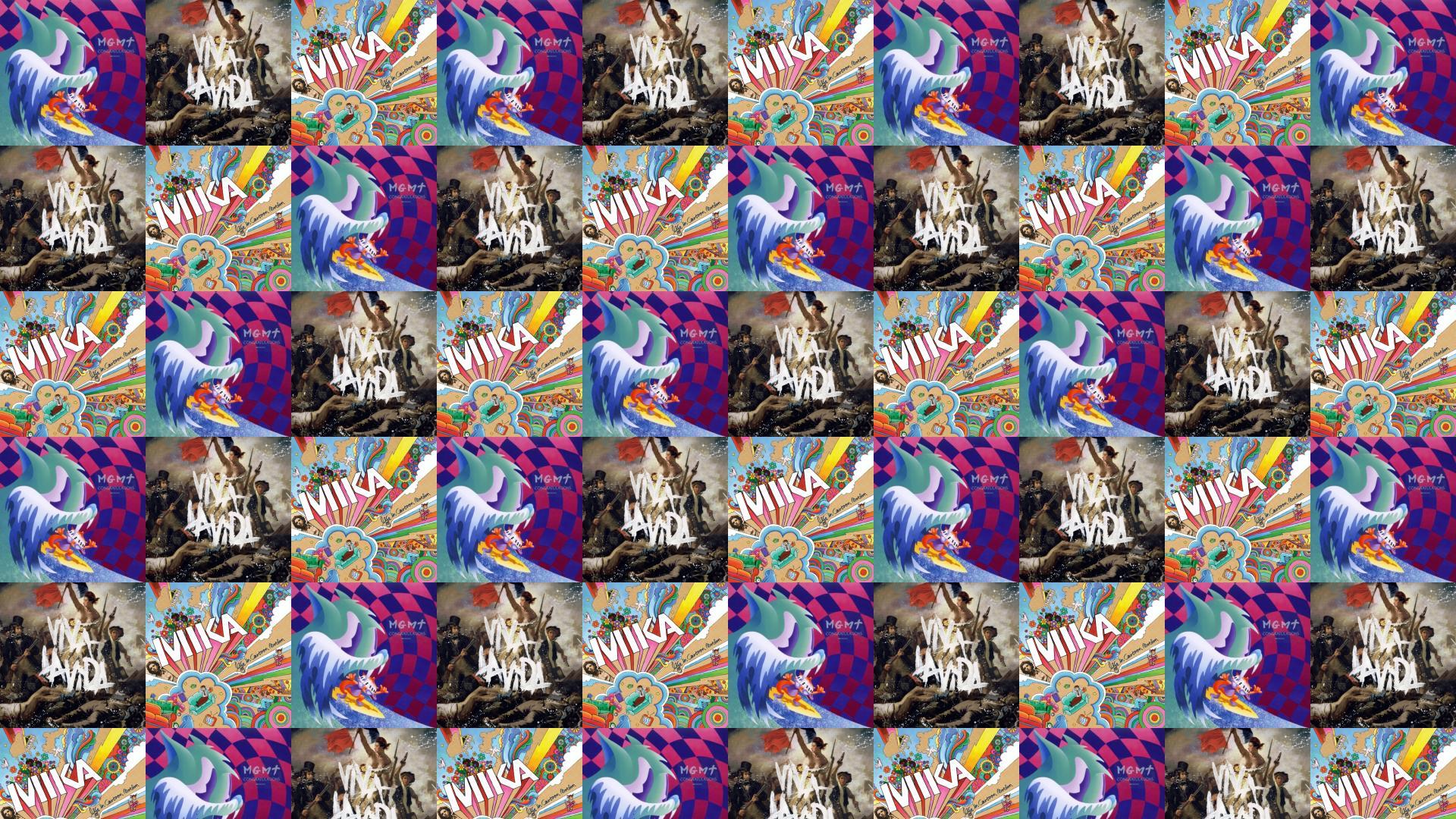 Mgmt Congratulations Coldplay Viva La Vida Mika Life Wallpaper