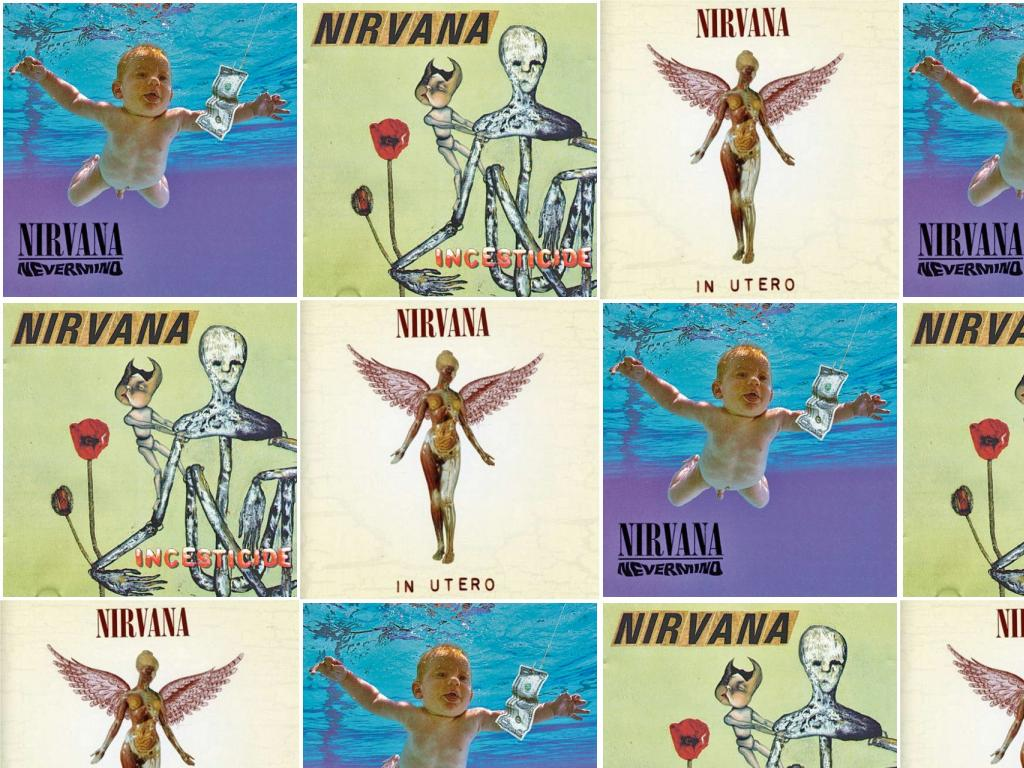 Nirvana Nevermind Incesticide Nirvana In Utero Wallpaper