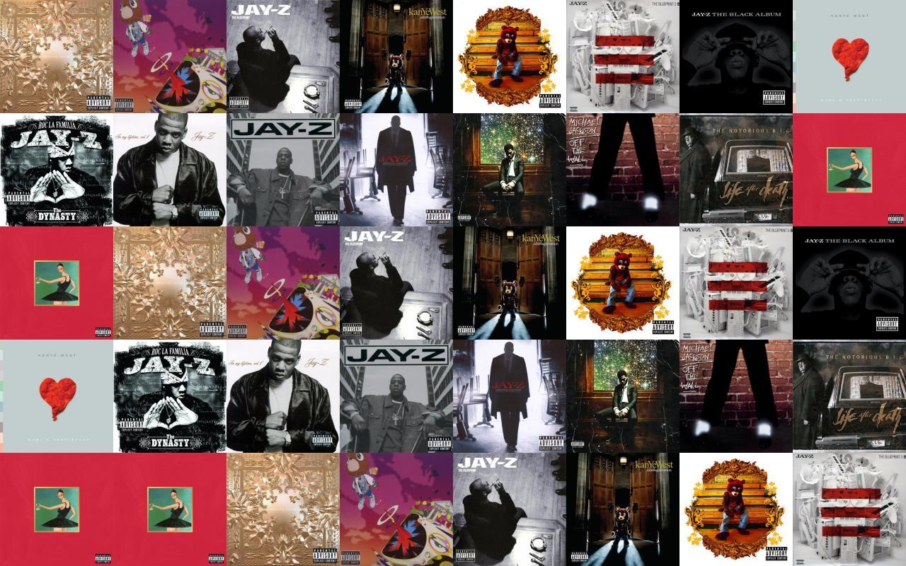 Jay z watch the throne kanye west wallpaper tiled desktop wallpaper download tweak this malvernweather Choice Image