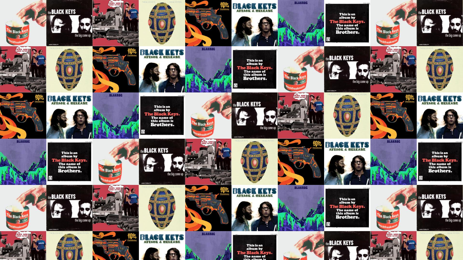 The Black Keys Thickfreakness The Big Come Up Wallpaper