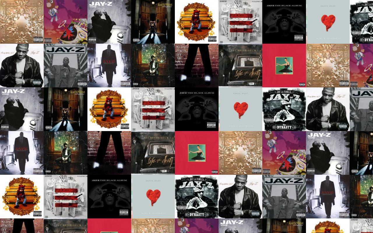 Free wallpapers jay and kanye west watch the throne wallpaper