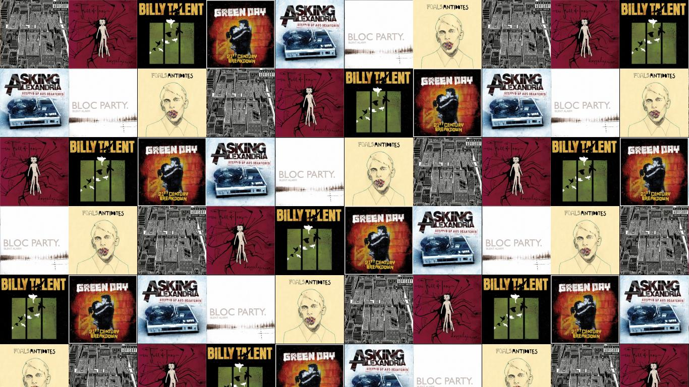 Blink 182 Neighborhoods Fall Troy Doppleganger Billy Talent