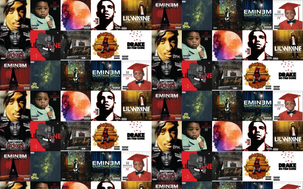 2pac Greatest Hits Lil Wayne Tha Carter III Wallpaper « Tiled Desktop ...
