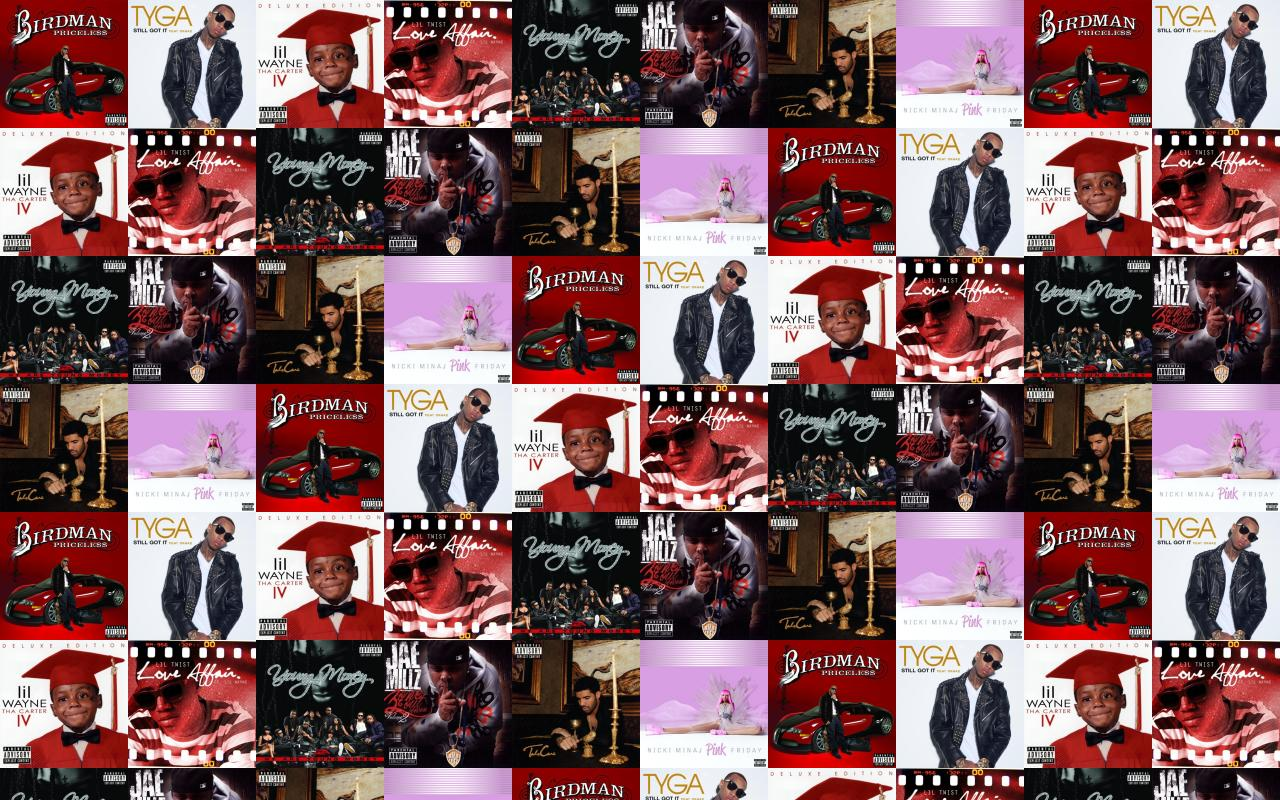Download this free wallpaper with images of Birdman – Priceless, Tyga –  Still Got It, Lil Wayne – The Carter Iv, Lil Twist – Love Affair, Young  Money – We ...