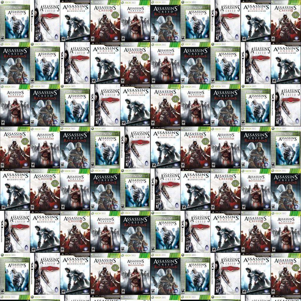 Assassins Creed Bloodlines Tiled Desktop Wallpaper