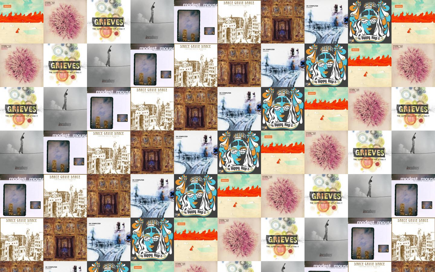 Emarosa Self Titled Relativity Grieves Confessions Mr