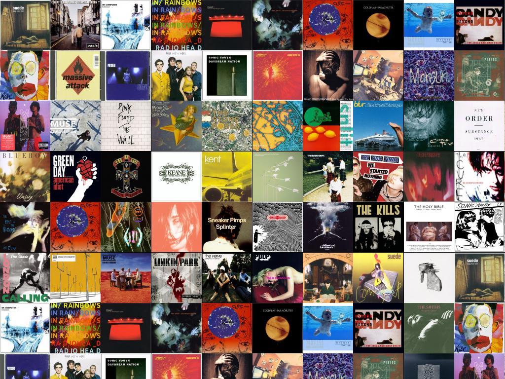 Suede Dog Man Star Oasis Morning Glory Radiohead Wallpaper