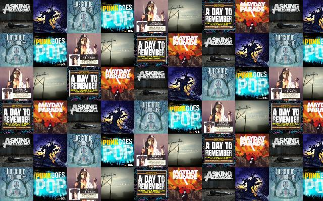 asking alexandria 171 tiled desktop wallpaper