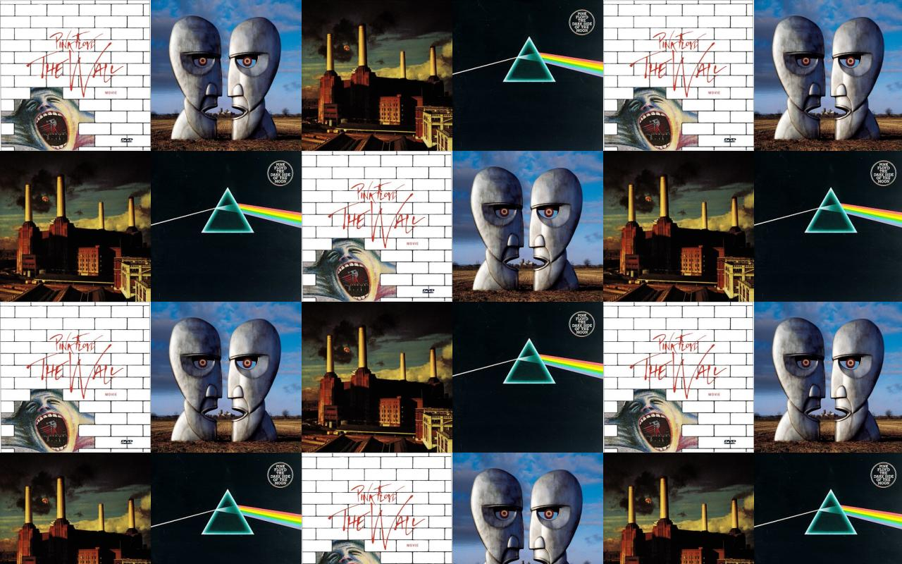 Pink Ployd Wall Pink Floyd Division Bell Wallpaper Tiled