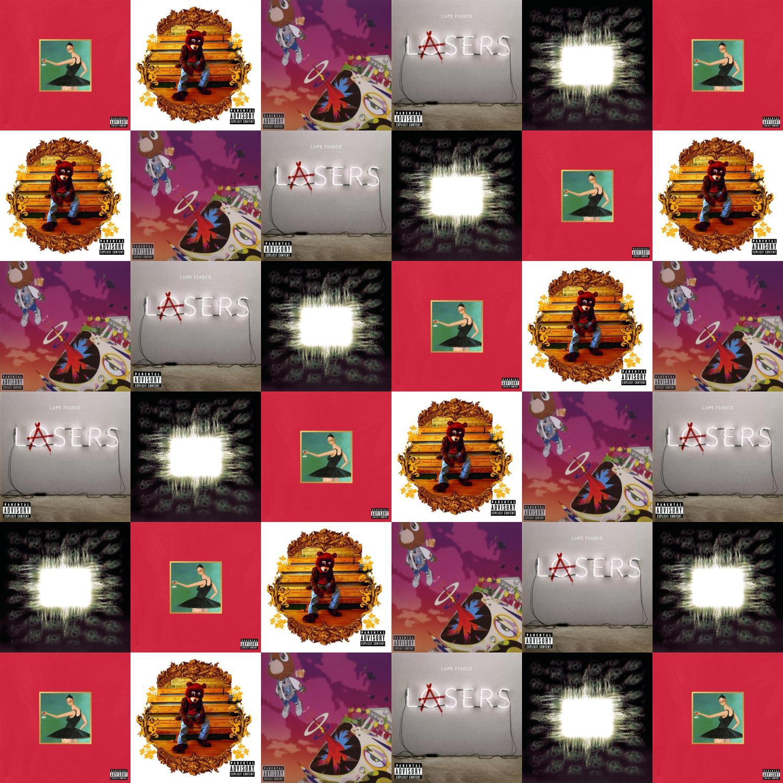 Kanye West My Beautiful Dark Twisted Fantasy College Wallpaper Tiled Desktop Wallpaper