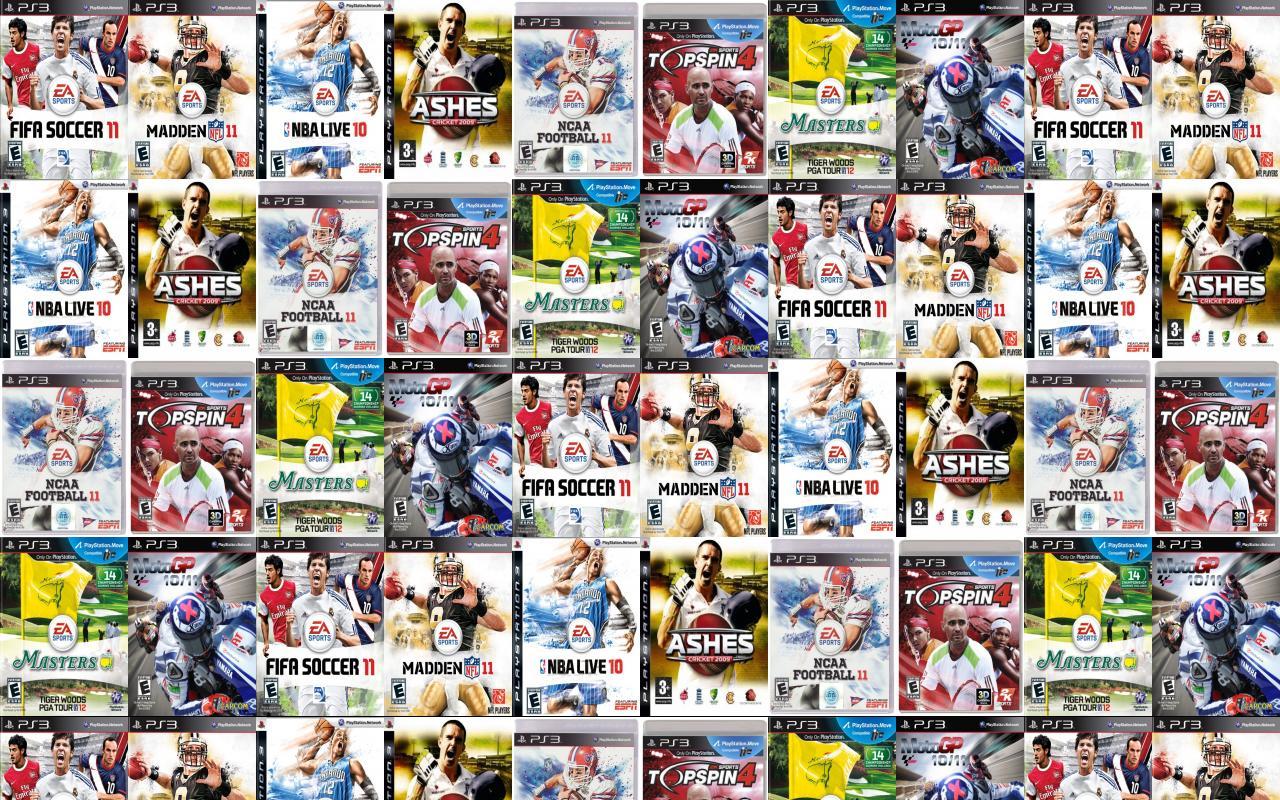 Fifa 11 Madden Ps3 Ea Nba Wallpaper Tiled Desktop