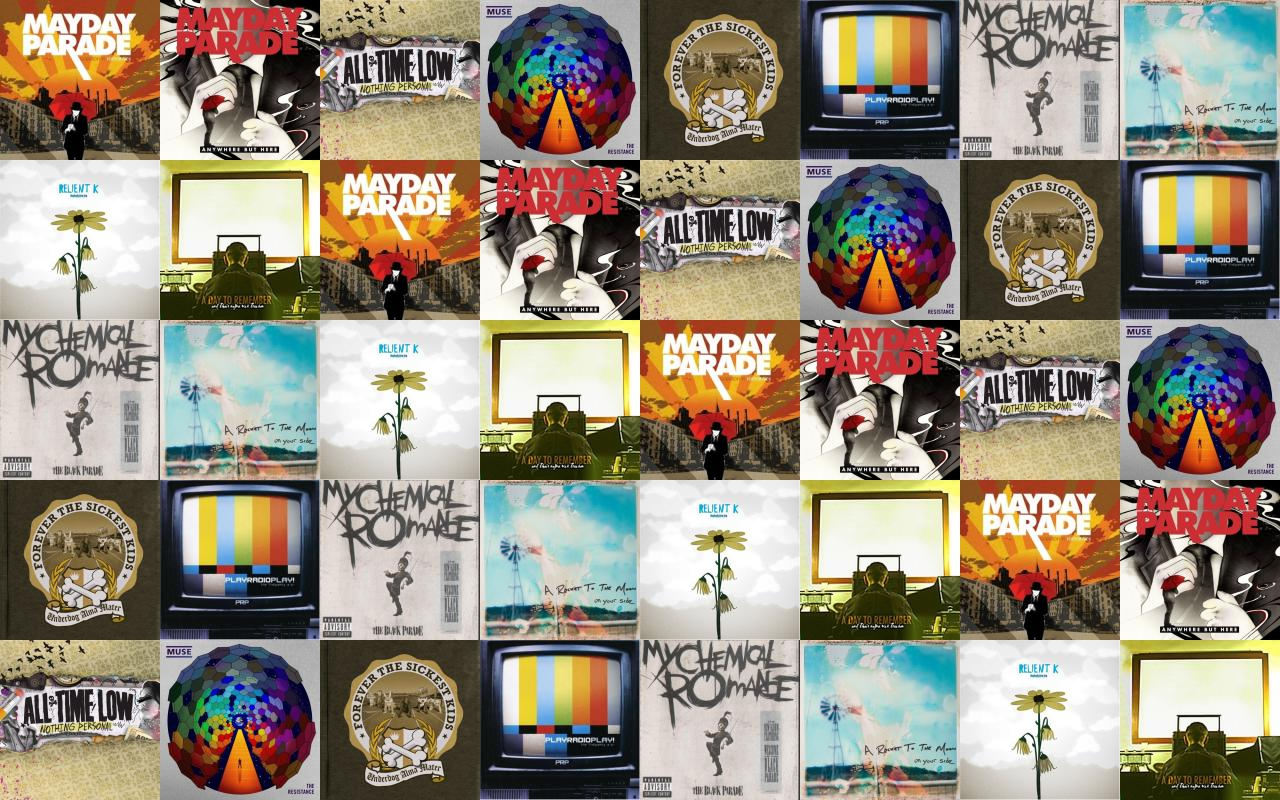 Mayday Parade A Lesson In Romantics Anywhere But Wallpaper ...