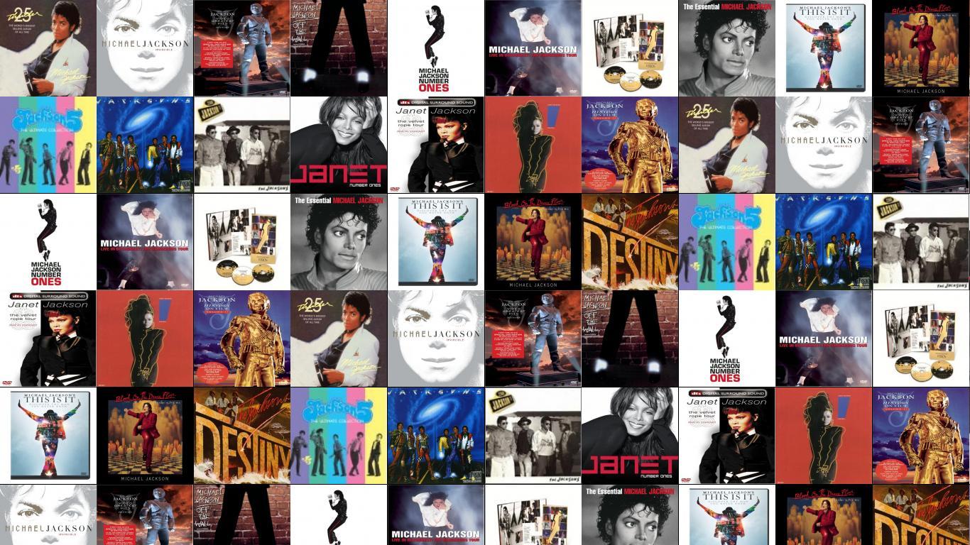 Michael Jackson Bad Invincible HIStory Off Wall Ben Wallpaper Tiled Desktop