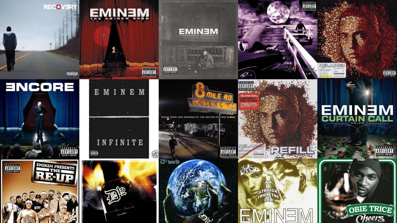 Eminem Recovery Eminem Show Eminem Marshall Mathers