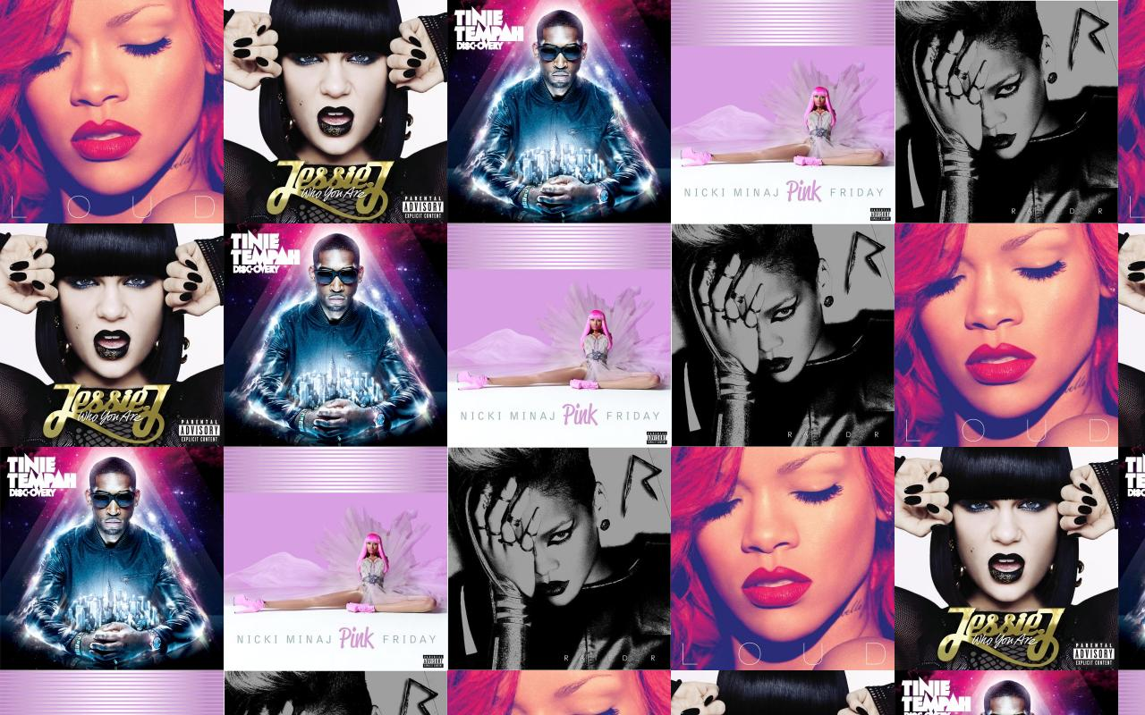 Rihanna Loud Jessie J Who You Are Tinie Wallpaper Tiled Desktop