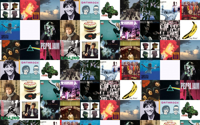 Gorillaz Demon Days Jimi Hendrix Electric Ladyland Wallpaper Tiled