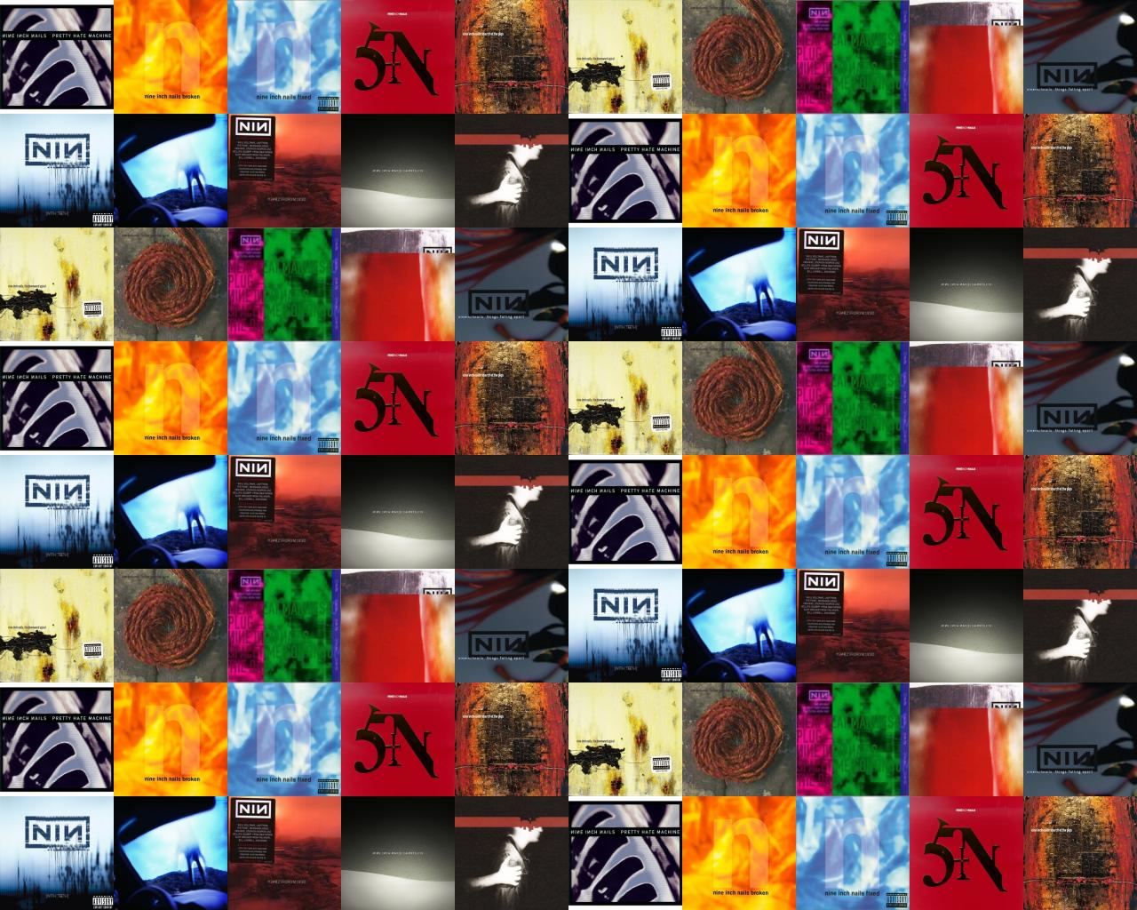Nine Inch Nails Pretty Hate Machine Broken Fixed Wallpaper « Tiled ...