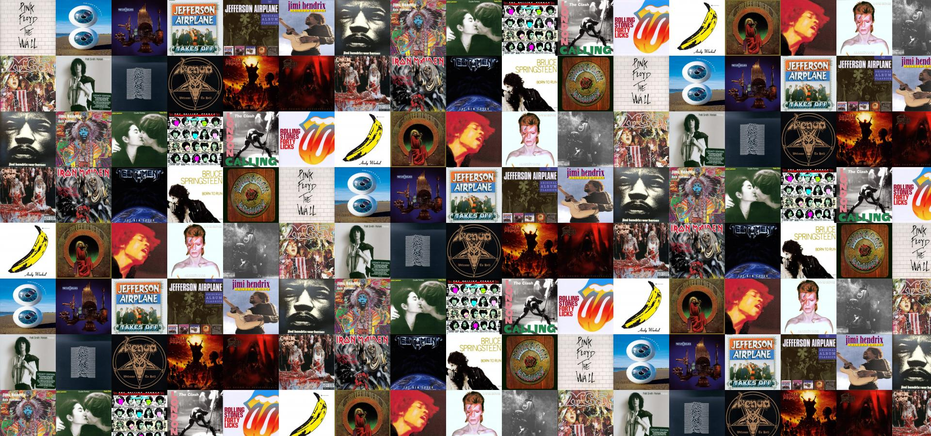 Pink Floyd All Album Cover Pulse Relics Jefferson Wallpaper