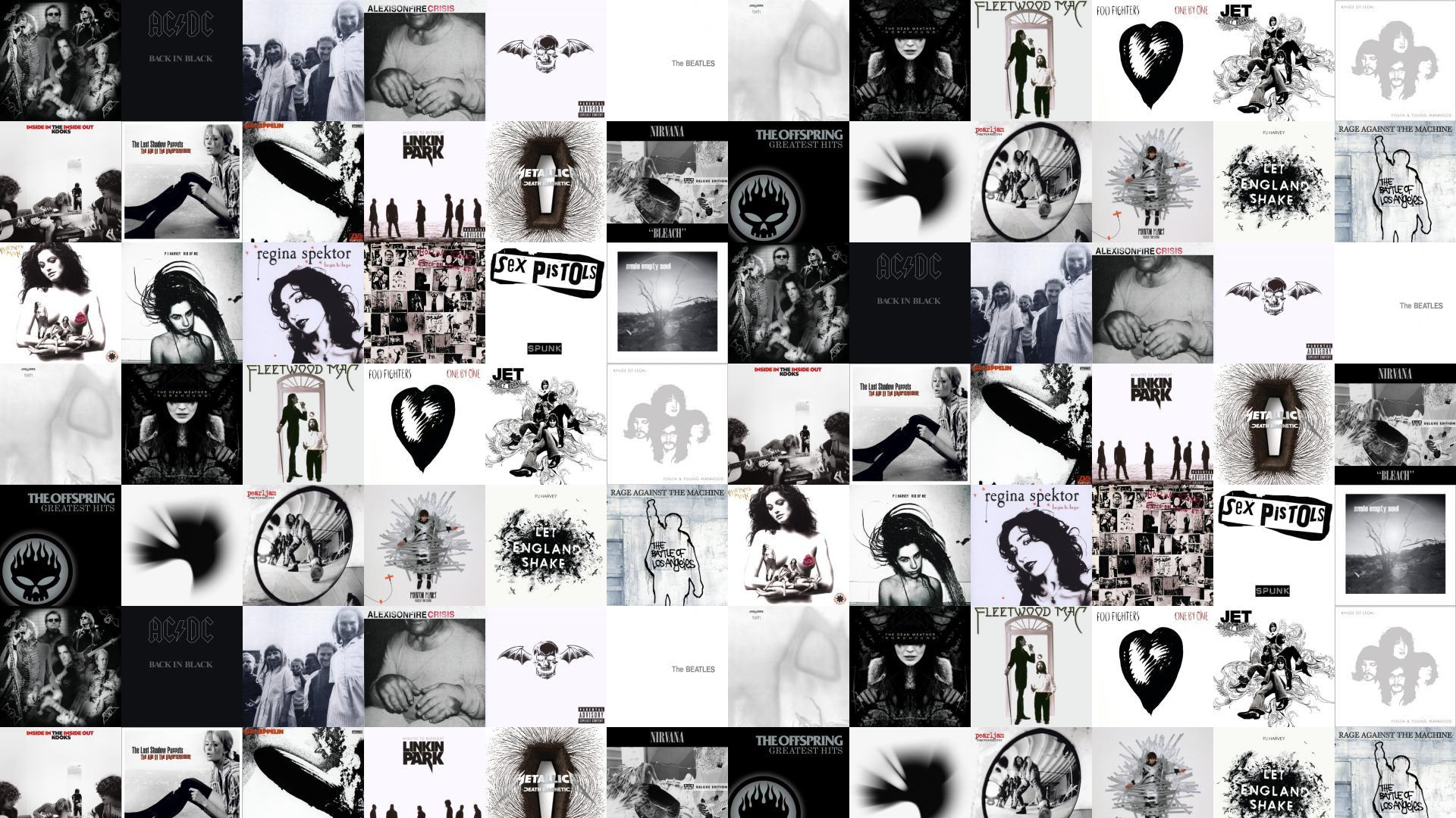 Aerosmith Aerosmith Acdc Back In Black Aphex Twin Wallpaper Tiled