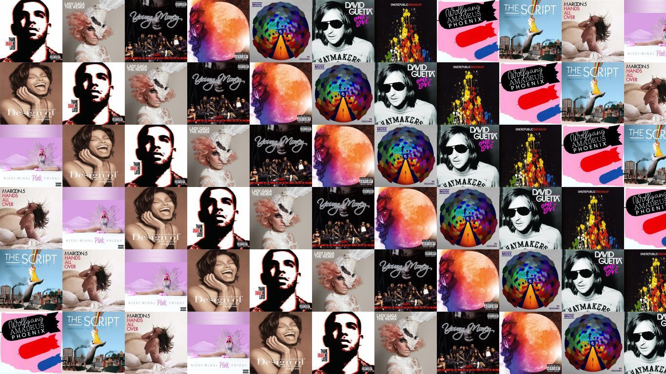 Drake Thank Me Later Lady Gaga The Remix Wallpaper « Tiled ...