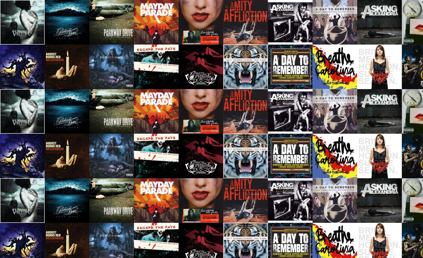 bullet for my valentine fever parkway drive deep wallpaper