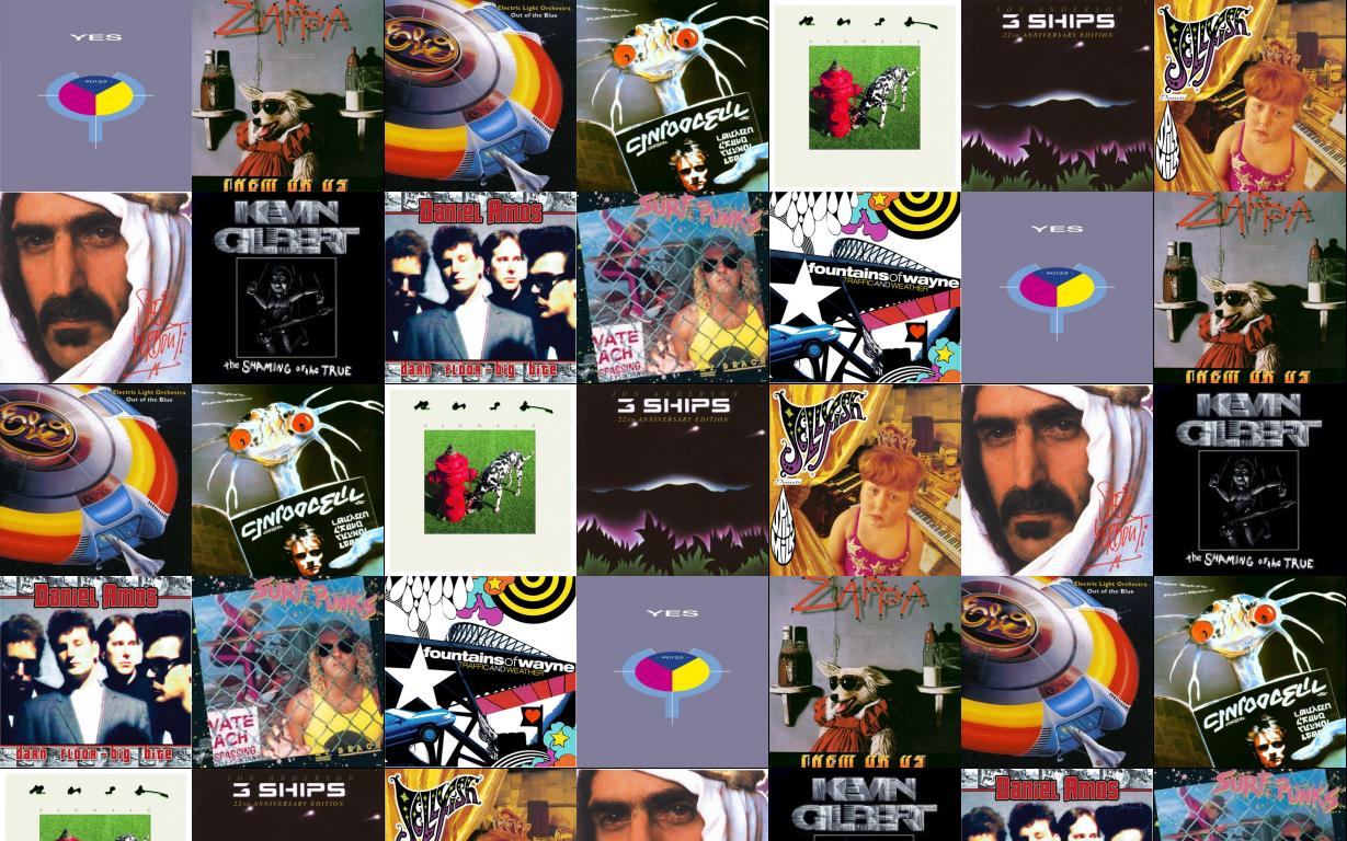 yes 90125 frank zappa them or us electric wallpaper