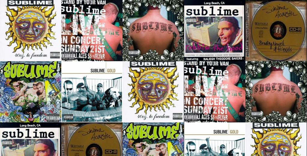 Sublime 40oz To Freedom Stand By Your Van Wallpaper Tiled