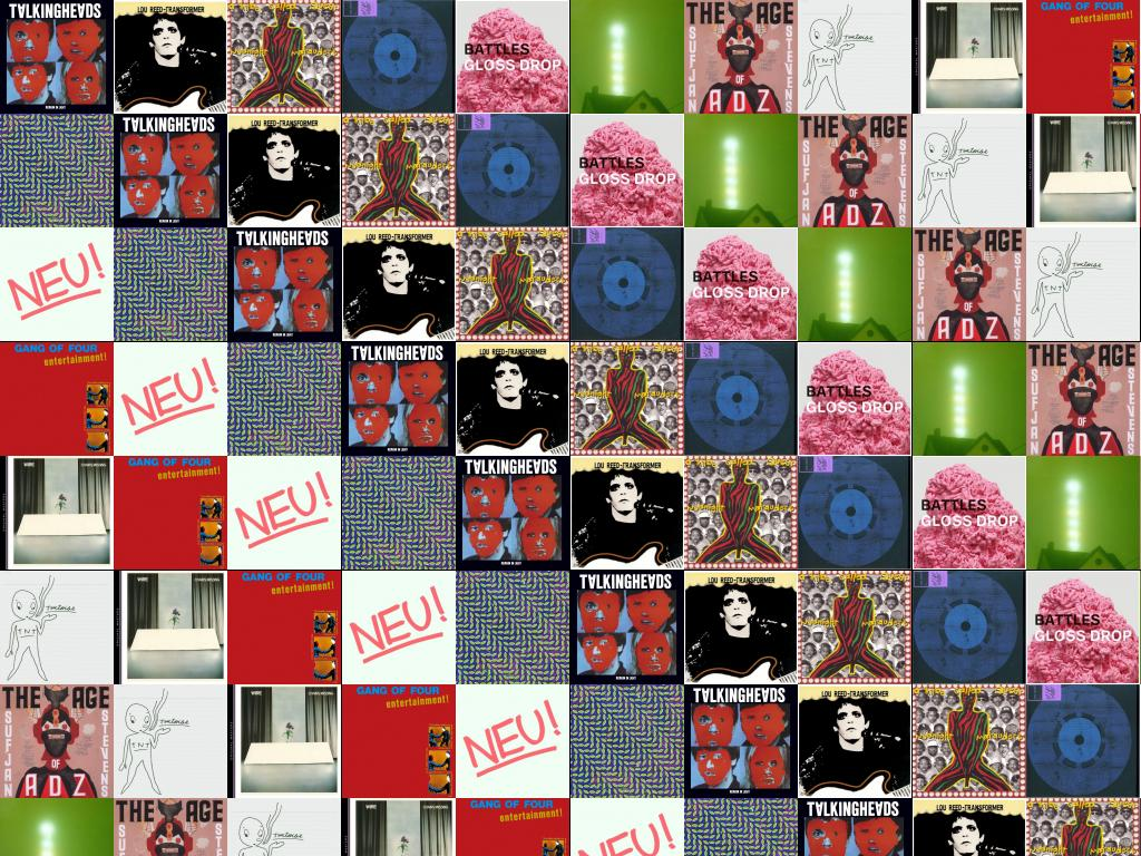Download This Free Wallpaper With Images Of Talking Heads Remain In Light Lou Reed Transformer A Tribe Called Quest Midnight Marauders