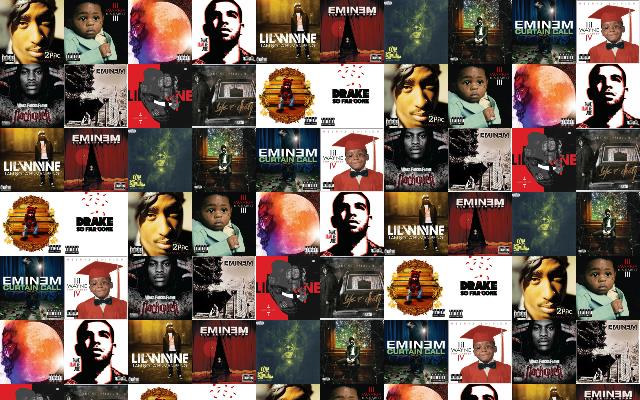 2pac Greatest Hits Lil Wayne Tha Carter III Wallpaper « Tiled Desktop ...