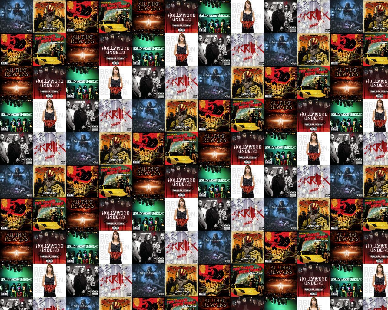 Avenged Sevenfold Nightmare Five Finger Death Punch War