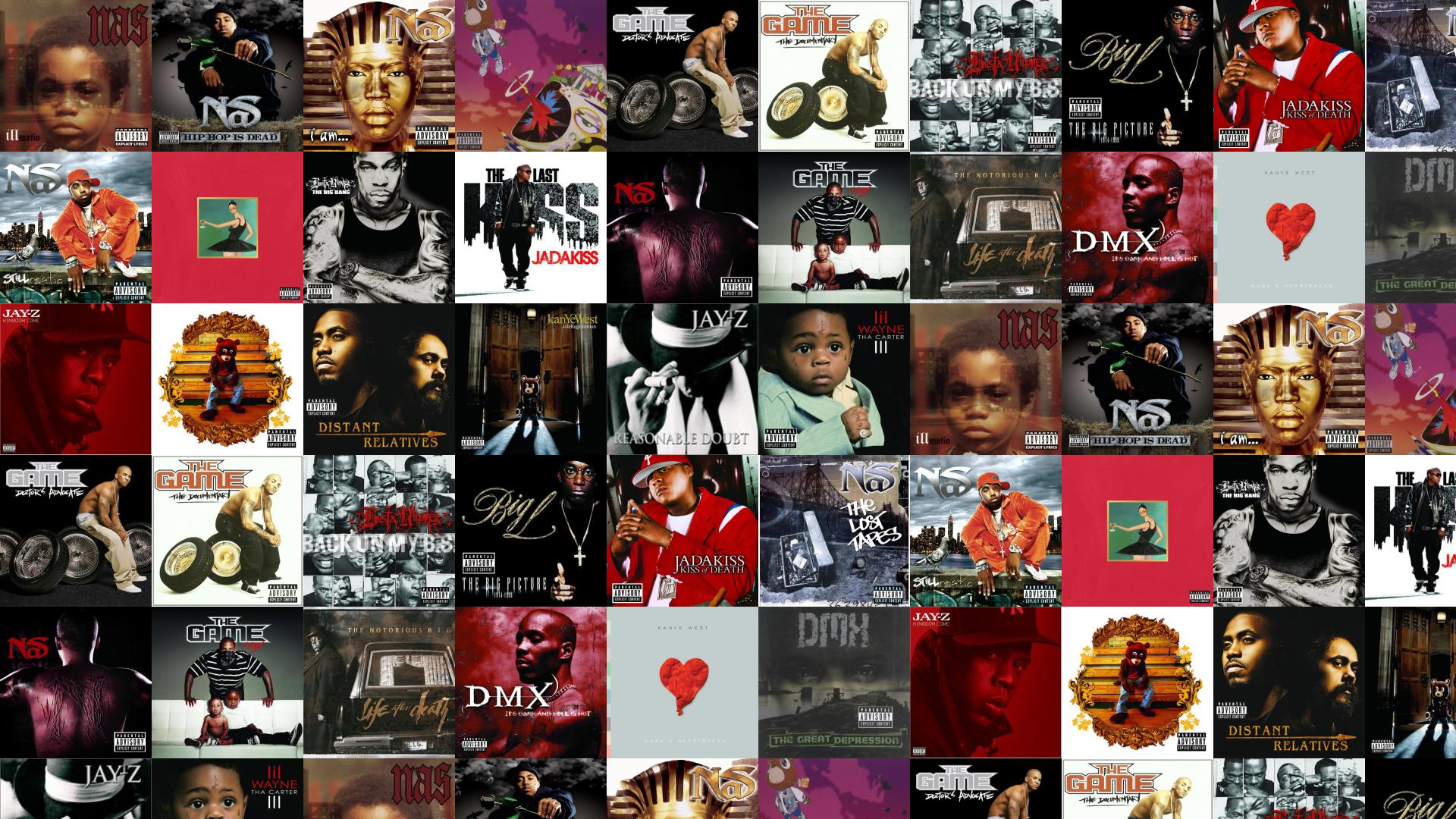nas illmatic hip hop dead i am kanye wallpaper « tiled desktop wallpaper
