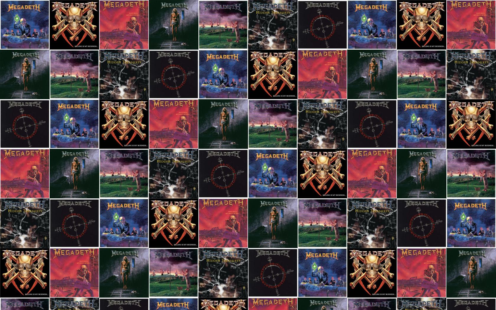 Megadeth Rust In Peace Killing My Business Peace Wallpaper