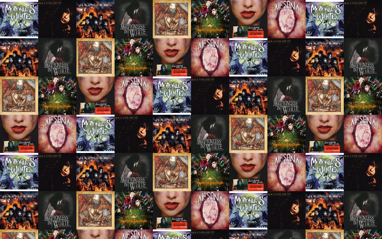 Motionless In White Creatures Black Veil Brides We Wallpaper Tiled Desktop
