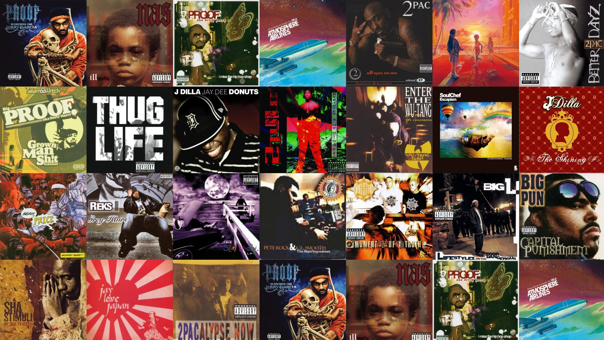 Proof Searching For Jerry Garcia Nas Illmatic I Wallpaper Tiled Desktop