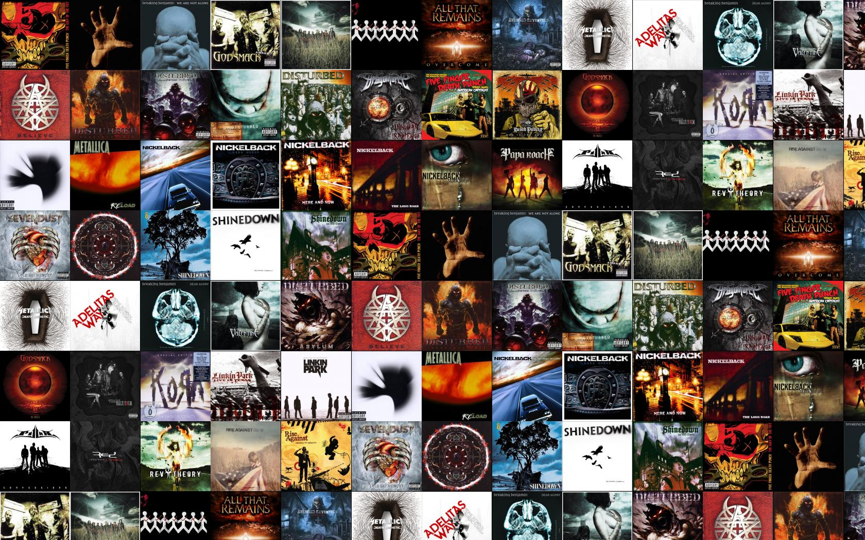 Five Finger Death Punch Way Fist System Down Wallpaper ...