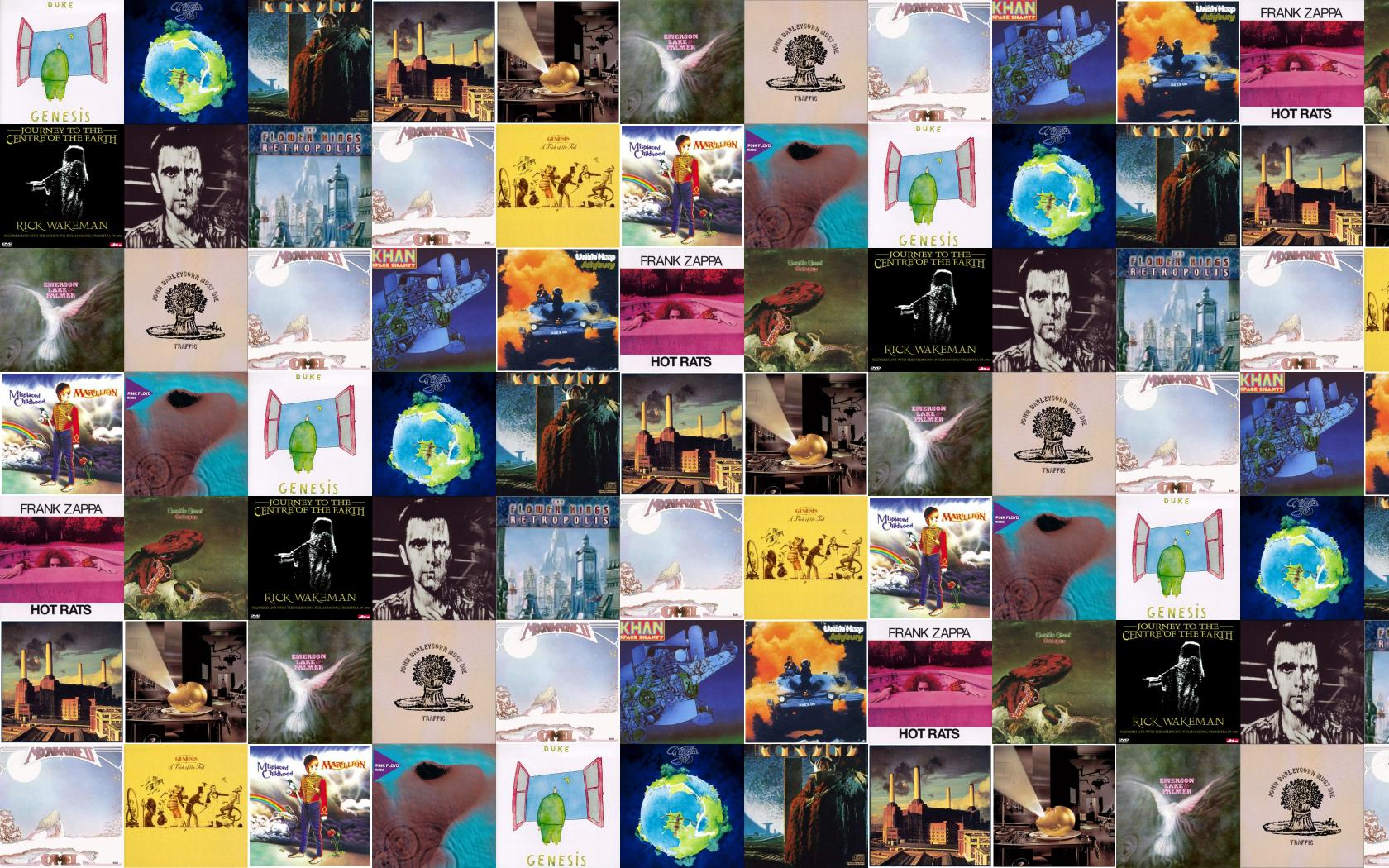 Genesis Duke Yes Fragile Kansas Monolith Pink Floyd