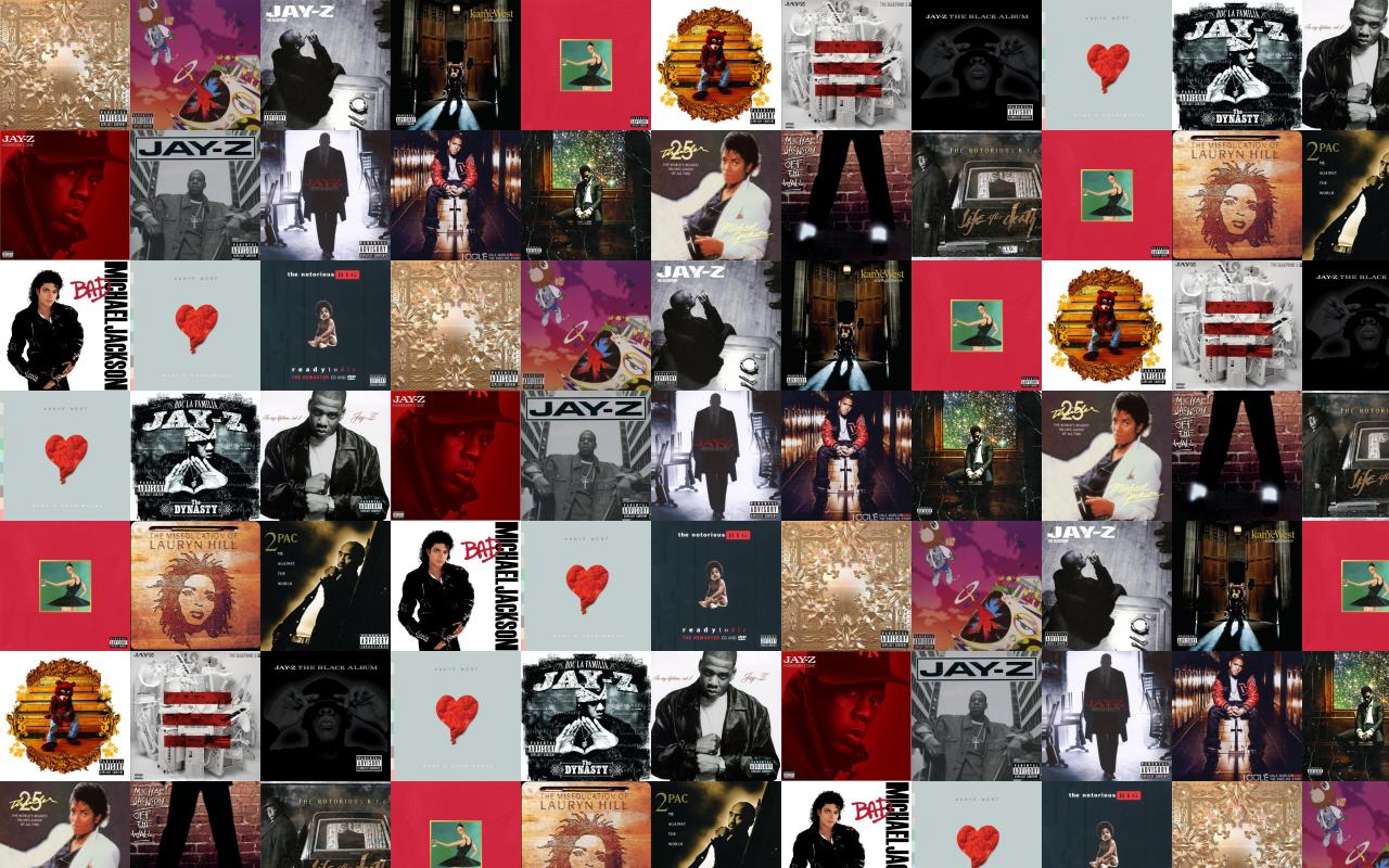 Jay z watch the throne kanye west wallpaper tiled desktop wallpaper download this free wallpaper with images of jay z watch the throne kanye west graduation jay z blueprint 3 kanye west late registration malvernweather Choice Image