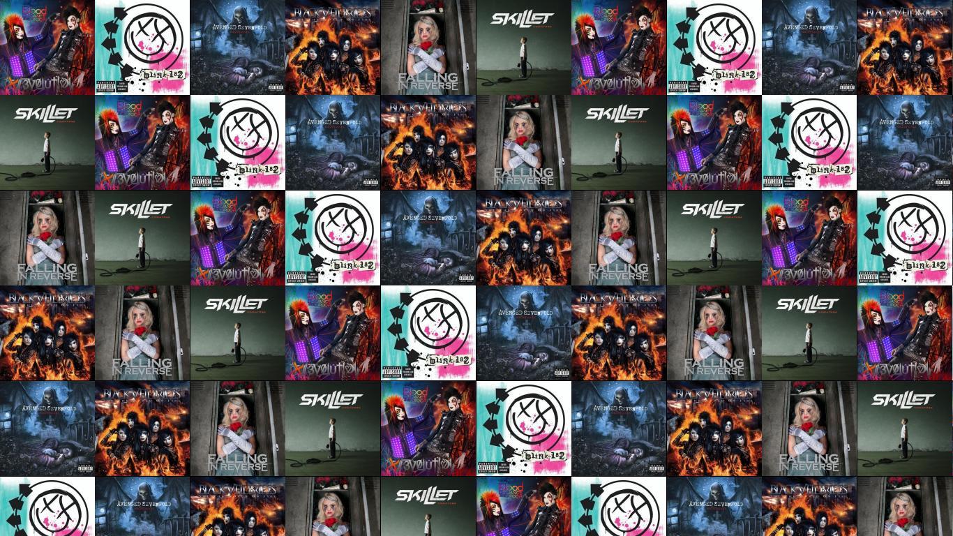 July 2012 tiled desktop wallpaper blood on the dance floor botdf blink 182 wallpaper voltagebd Choice Image