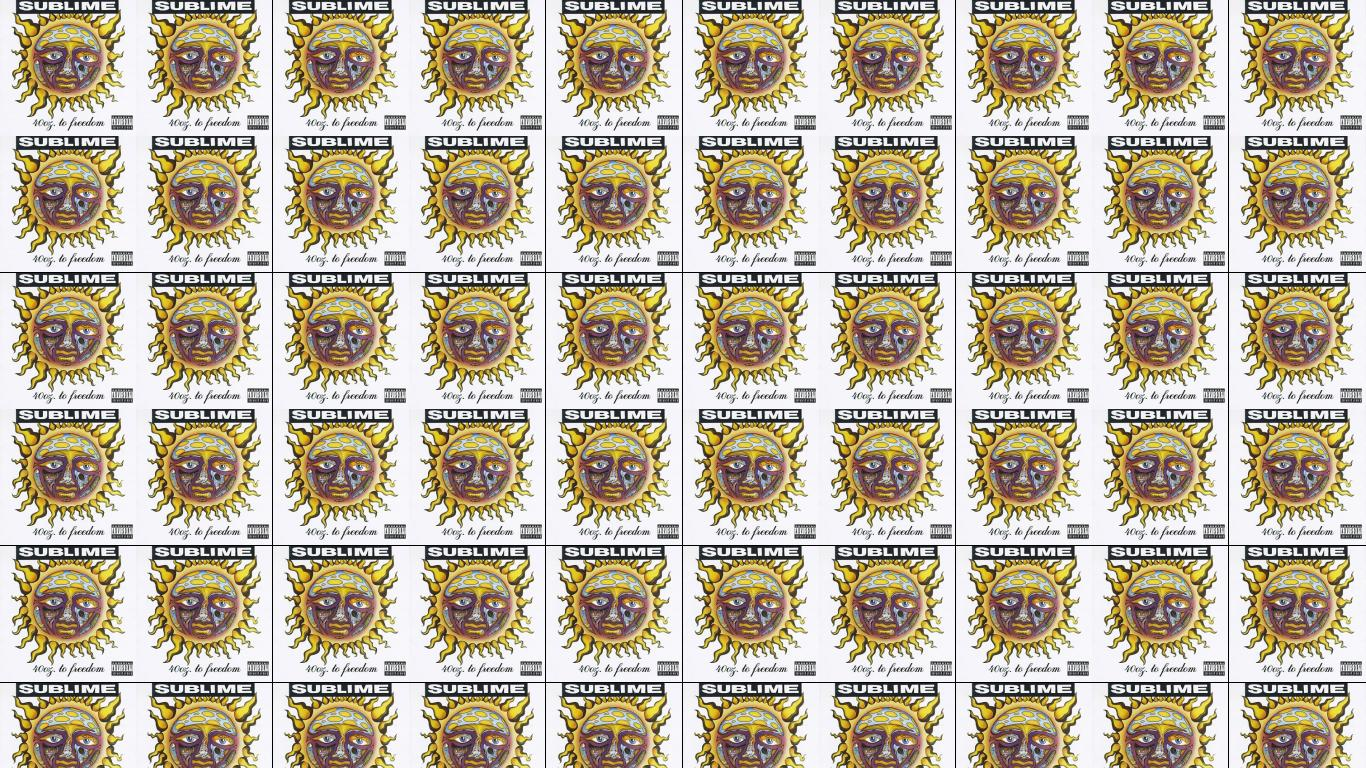 Sublime 40 Oz To Freedom Wallpaper Tiled Desktop Wallpaper