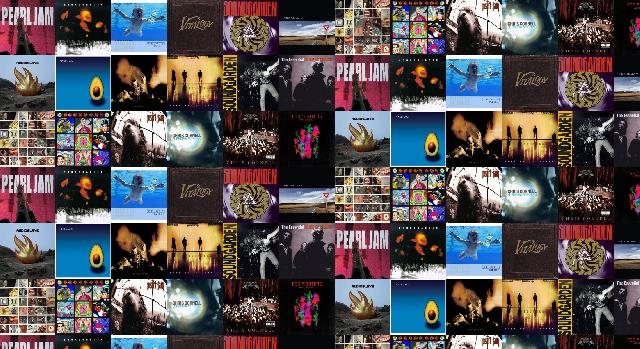Pearl Jam Ten Soundgarden Superunknown Nirvana Nevermind