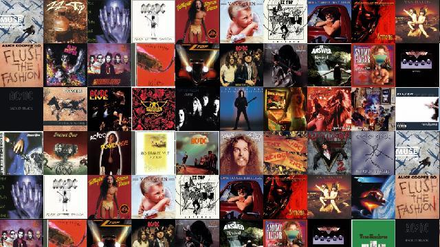 Muse Absolution Zz Top Rhythmeen Steve Vai Alien Wallpaper